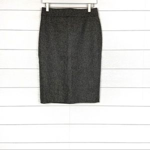 NWT J.Crew No. 2 Pencil Skirt Donegal Wool